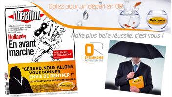 OptimHome lance une campagne de communication décalée - © D.R.