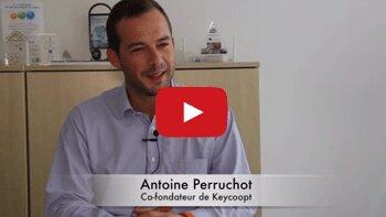 4 min 30 avec Antoine Perruchot, co-fondateur de Keycoopt - D.R.