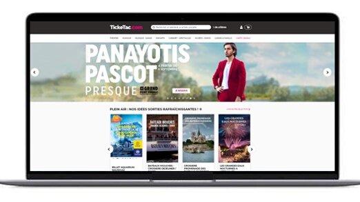 Le nouveau site de Ticketac a été mis en ligne en juillet dernier. - © D.R.