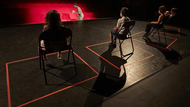 Le premier spectacle après le confinement, une création de Johanny Bert © Christophe Raynaud de Rage - © Christophe Raynaud de Lage Christophe Raynaud de Lage