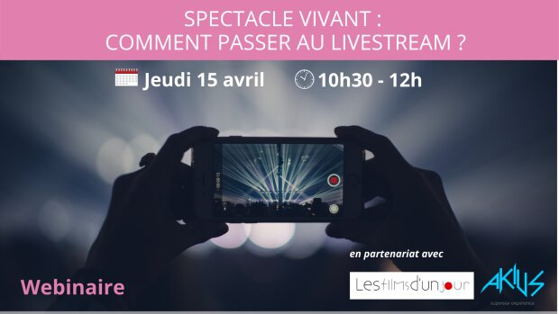 Livestream: le replay du webinaire de Culture Matin est en ligne