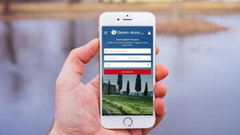 Green-acres lance un nouveau site mobile plus ergonomique - © D.R.