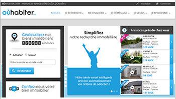 OùHabiter.com: ce nouveau portail gratuit fait le pari de la géolocalisation - © D.R.