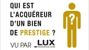 L'immobilier de prestige français ne faiblit pas - © D.R.