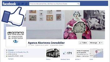 Les agents immobiliers doivent-ils avoir une page Facebook? - D.R.