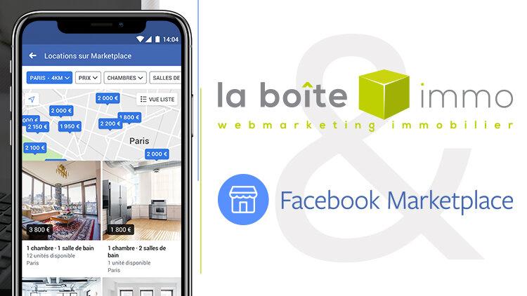 La Boite Immo devient partenaire de Facebook Marketplace - D.R.