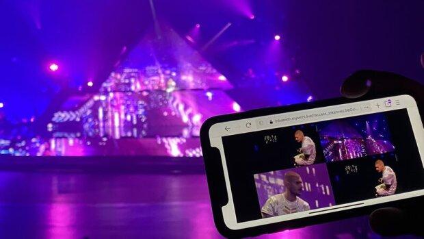 Le concert de Matt Pokora a été diffusé depuis la Seine Musicale (92). - © D.R.