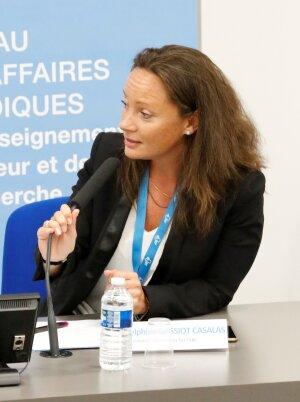 Delphine Gassiot-Casalas est présidente de l'association Jurisup - © Jurisup