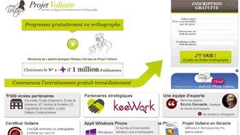 Formation en orthographe : déjà 1,3 million d'utilisateurs pour le projet Voltaire - D.R.