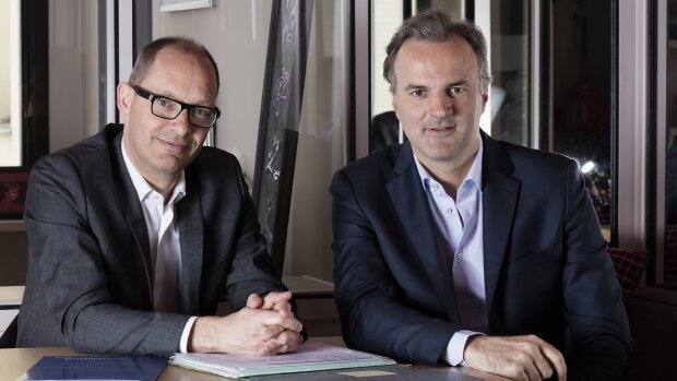 Thomas Abinal et Amaury de Calonne, co-fondateurs de Monetivia - © D.R.