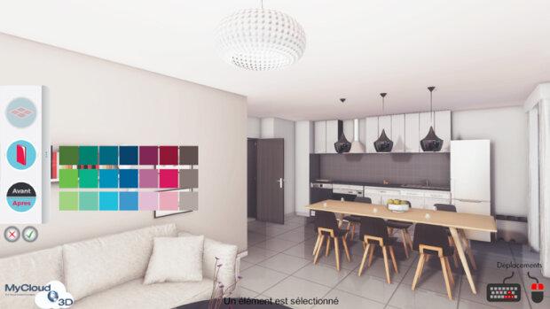 La 3D temps réel: l'avenir de la commercialisation immobilière - © D.R.
