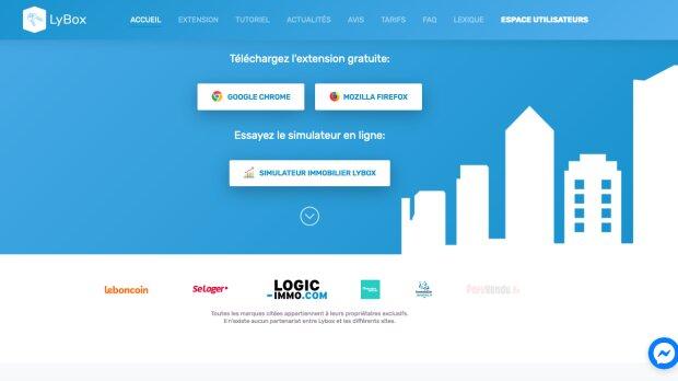 Homepage Lybox - © D.R.