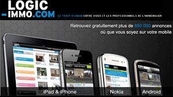 Logic-Immo mise sur une stratégie mobile globale - D.R.