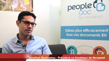 4 min 30 avec Jonathan Benhamou, co-fondateur de Novapost - D.R.