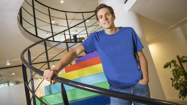 Pierre Dubuc est le CEO d'OpenClassrooms, entreprise qu'il a cofondée avec Mathieu Nebra. - © CHOUKHRI DJE