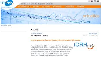 HR Path crée ICRHnet et décuple sa force de frappe - © D.R.
