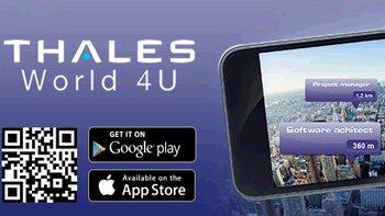 Thales dévoile son application mobile «carrières» en réalité augmentée
