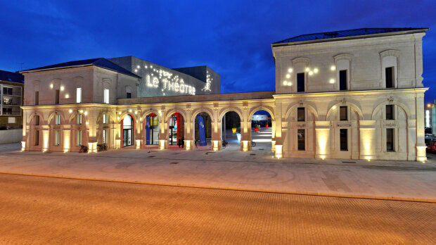 Le Théâtre de Saint-Nazaire propose une salle de 836 places. - © D.R.