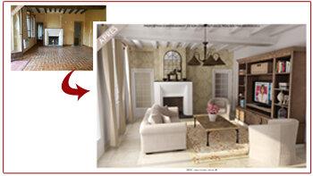 «Home Staging Virtuel®» d' ArchiDeco séduit les grands réseaux immobiliers - © D.R.