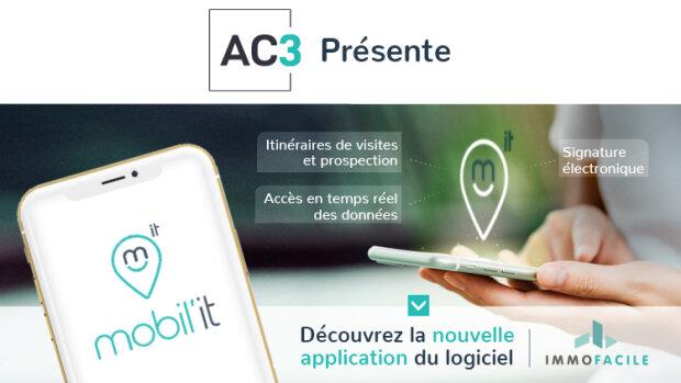 AC3-ImmoFacile lance, Mobil'IT, sa nouvelle application mobile - © D.R.