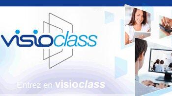 Visioclass: la formation présentielle à distance - © D.R.