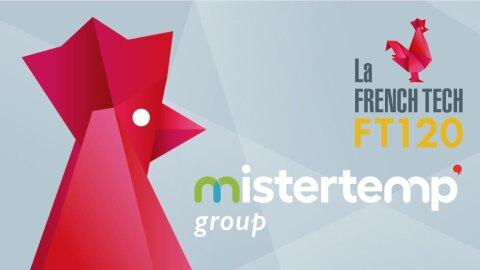 Mistertemp' group lauréat de la première promotion du French Tech 120 - D.R.