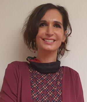 Sophie Mano-Avril s'apprête à commencer les cours en hybride, pour lesquels CY Tech s'est équipée de kits dédiés