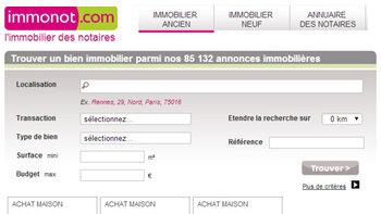 Immonot.com confirme sa position d'expert en immobilier notarial - D.R.