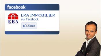 Facebook: l'expérience réussie d'Era Immobilier - © D.R.