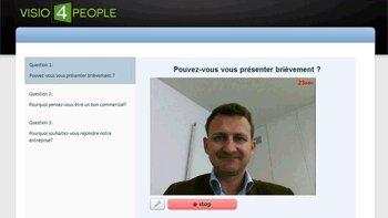 Visio4People enrichit sa plateforme avec une solution d'entretien vidéo différé - © D.R.