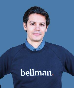 Antonio Pinto, co-fondateur et CEO de Bellman