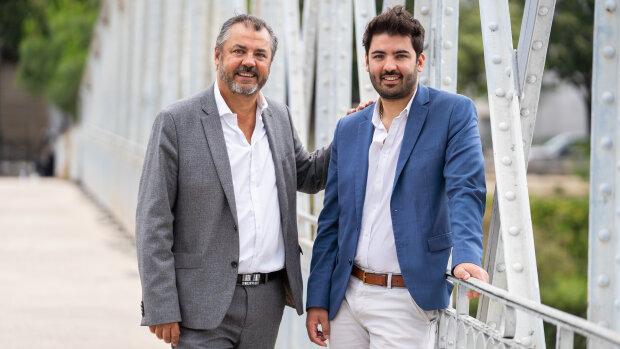 Bruno et Julien Gauthier, cofondateurs de CityLife Immobilier - © Y. Kellerman