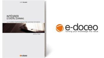 e-doceo publie un livre blanc surle digital learning - D.R.