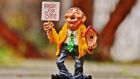 La cote des agents immobiliers progresse! - D.R.
