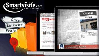 Smartvisite propose un site web par mandat - D.R.