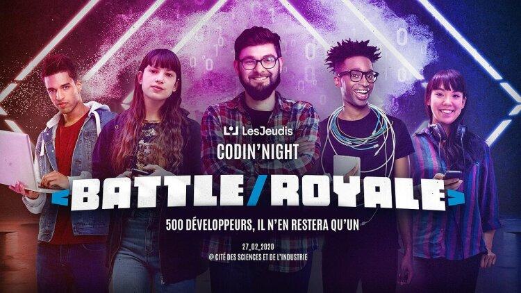 LesJeudis lance la Codin'Night Battle Royale -