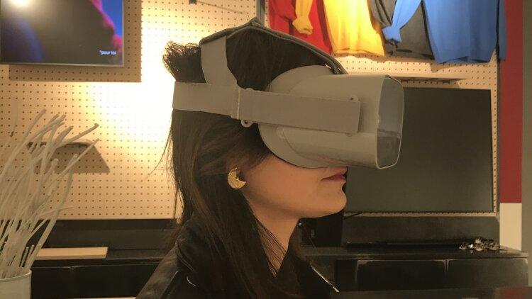 Realité virtuelle - Célio
