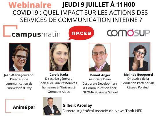 [Participez!] Covid19: quels impacts sur les actions des services de communication interne?