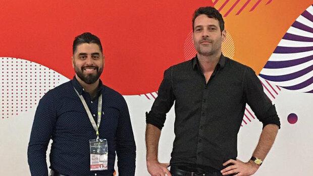 Mohamed Zantour et Benjamin Horvais, cofondateurs de Ymo App - © D.R.