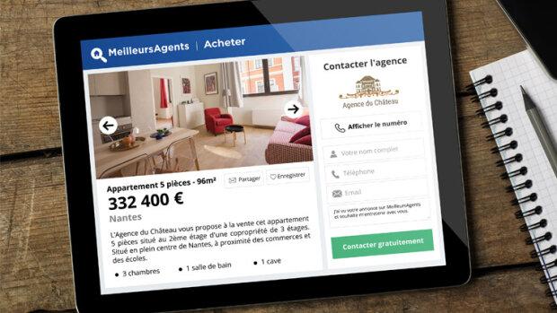 MeilleursAgents, l'allié digital des agences immobilières, refond ses annonces - © D.R.