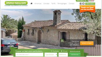Le site immobilier entre particuliers immo-neo.com se développe en franchise - © D.R.
