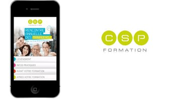 CSP Formation lance l'application «Mobile Learning» - D.R.