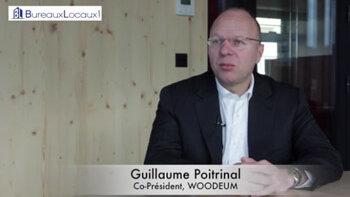 """Témoignage Vidéo : """"BureauxLocaux.com est un outil indispensable"""" Guillaume Poitrinal, WOODEUM - D.R."""