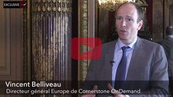 3 min avec Vincent Belliveau, Vice-President EMEA, Cornerstone - D.R.
