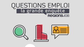 RegionsJob livre les résultats du troisième volet de son enquête sur le quotidien des recruteurs et  - D.R.