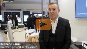 3 min avec Stéphane Caron, DG de Previsite - D.R.