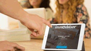 Immodvisor rend la collecte d'avis accessible sur mobile - © D.R.