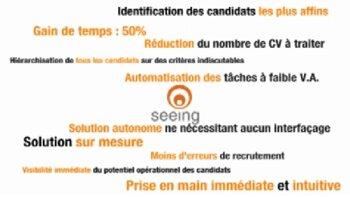 Seeing: l'outil de présélection de candidats plébiscité par Accor - D.R.