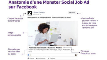 Monster traque les candidats potentiels sur Facebook