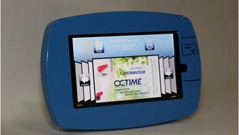 Octime Pop, la badgeuse interactive dotée d'un accès multimédia